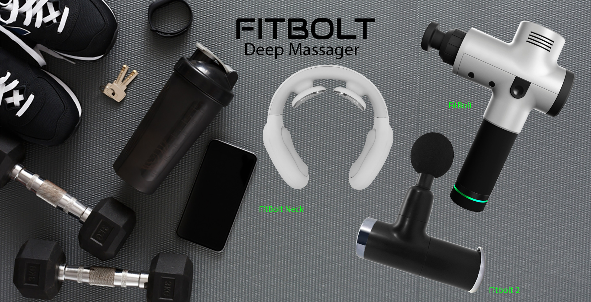 The Massage Therapy Gun and Device for Sore Muscles and Muscle Recovery.