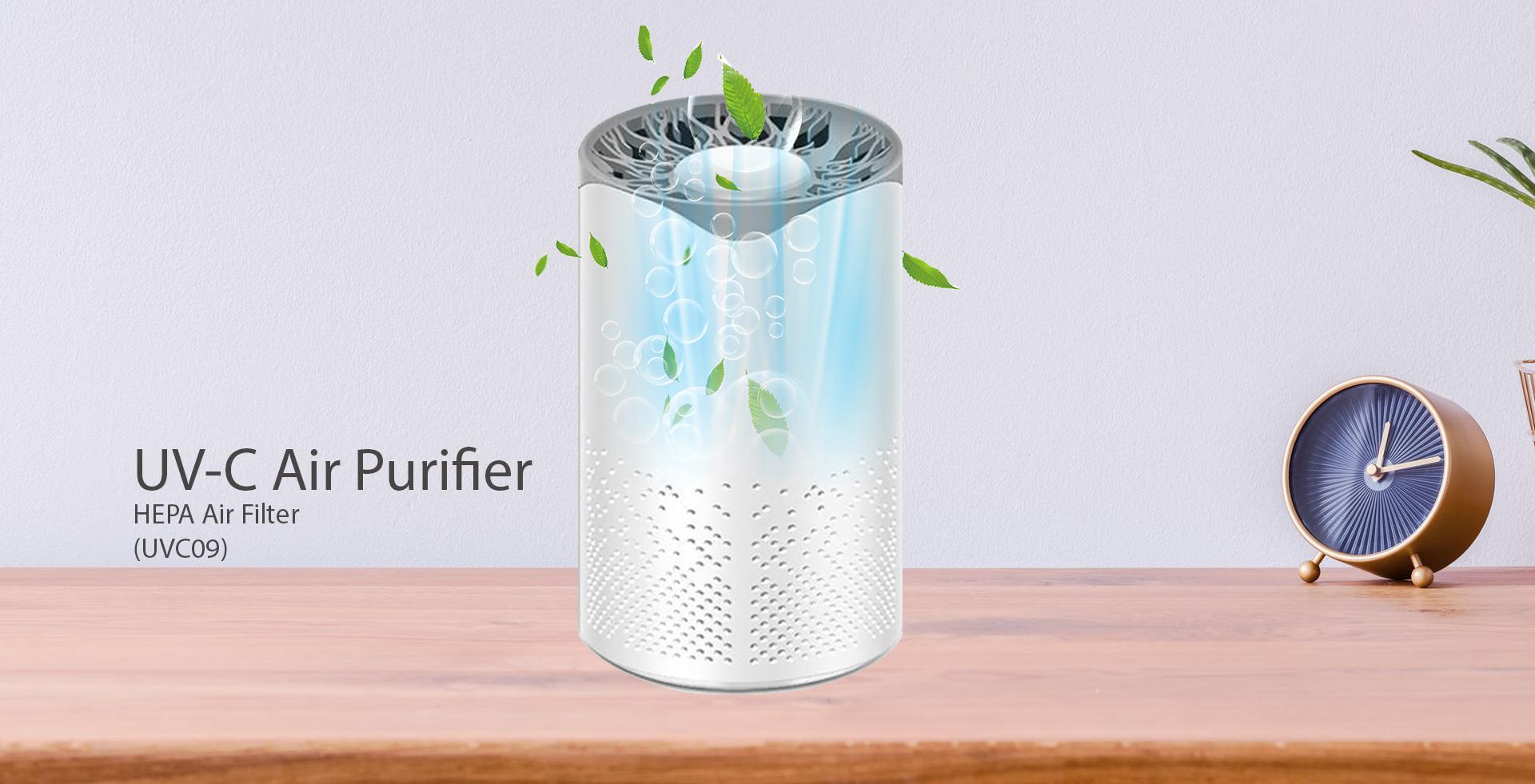 UVC Air Purifier HEPA filter