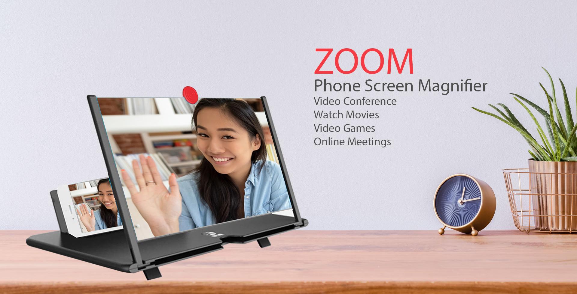 Zoom Phone Screen Magnifier