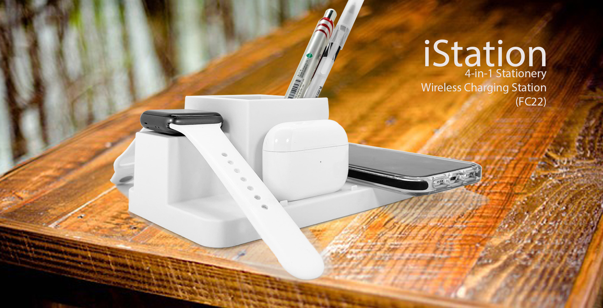 iStation 4-in-1 wireless charger