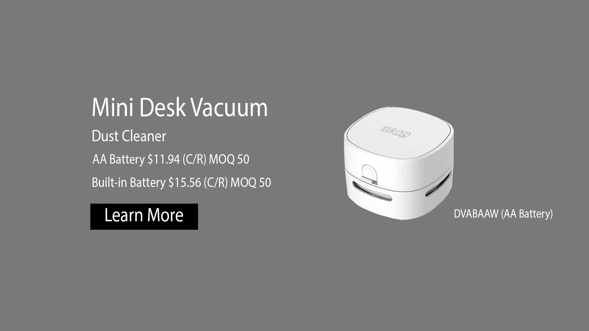 The Desk Vacuum Dust Cleaner for desk, office, work space, or school. Mini Dust Cleaner for everyone.