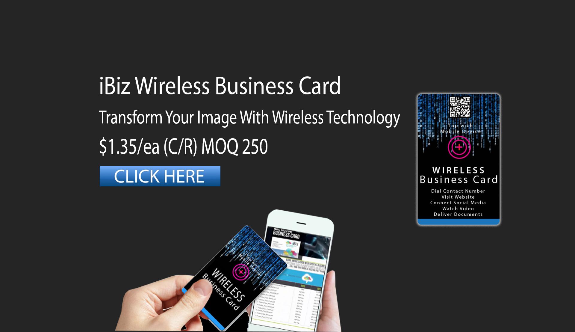 iBiz Wireless Card
