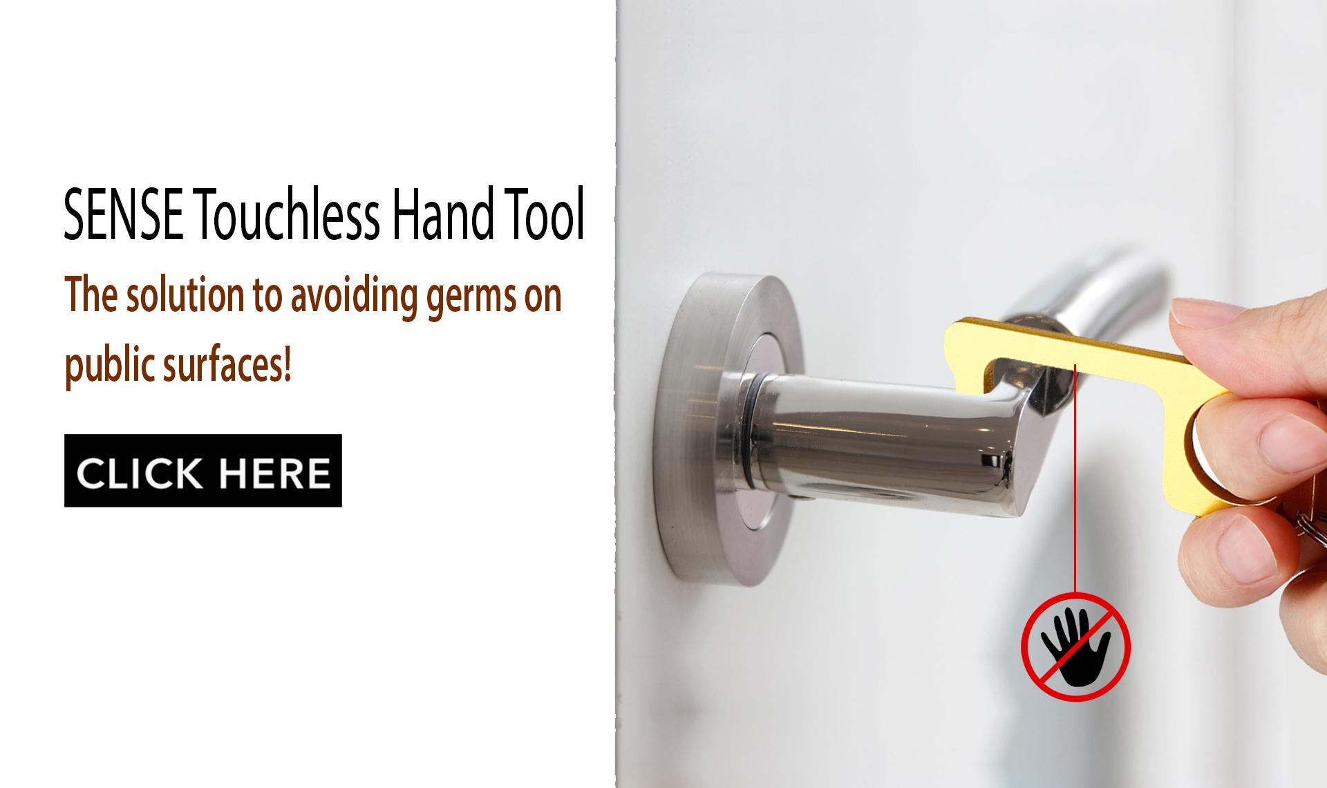 SENSE Contactless Touchless Door Opener Gadget Tool